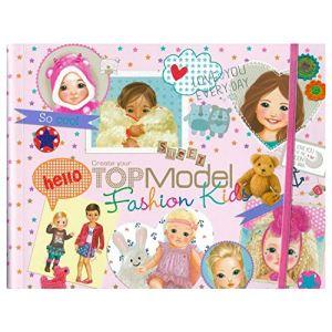 Depesche Top Model - Album de coloriage Kids Fashion