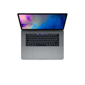Apple MacBook MacBook Pro 15.4 Touch Bar Sur Mesure : 512Go SSD 32 Go RAM Intel Core i7 hexacour à 2,6 GHz Radeont Pro 560X à 4Go Gris sidéral Nouveau