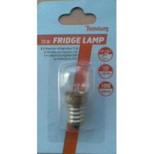 Temium 1185225 - Ampoule pour réfrigérateur E14 15W
