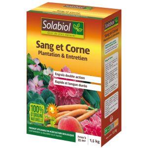 Solabiol Sang et corne : Plantation et entretien 1,5 kg - 100% naturel
