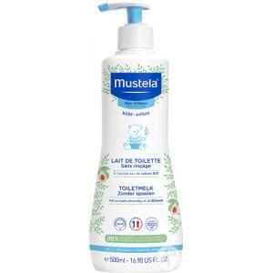 Mustela Lait de Toilette sans Rinçage - 500 ml