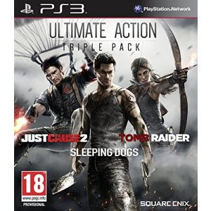Ultimate Action Triple Pack : Tomb Raider + Just Cause 2 + Sleeping Dogs [PS3]