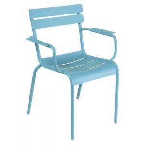 Fermob Luxembourg - 2 fauteuils de jardin empilables en aluminium
