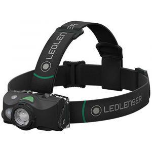 Led lenser Ledlenser MH8 Lampe Frontale d'extérieur pour la Chasse et la pêche 600 lumens avec Une portée de Faisceau de 200 m - Idéal pour la Chasse et la pêche - Noir et Gris - 31mm