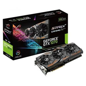 Asus STRIX-GTX1070-O8G-GAMING - Carte Graphique Strix GeForce GTX 1070 OC 8 Go