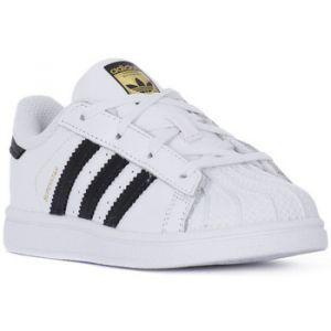 Adidas Superstar, Baskets Mixte Enfant, Blanc (Footwear White/Core Black/Footwear White), 27 EU