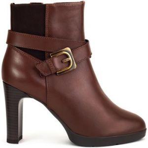 Geox D ANNYA HIGH E D84AEE - Bottines et boots Femme, Marron