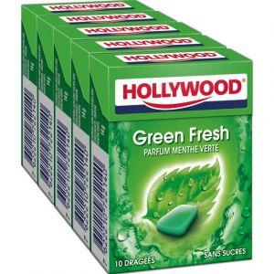 Hollywood Chewing gum menthe verte