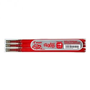 Pilot 3 recharges stylos roller Frixion pointe fine