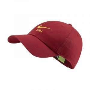 Nike Casquette réglable A.S. Roma Heritage86 - Rouge - Taille Einheitsgröße - Unisex