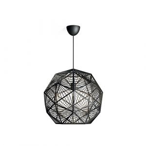 Philips Lighting 4088730PN MOHAIR Suspension, Plastique, E27, Noir, 52 x 49,5 x 205 cm