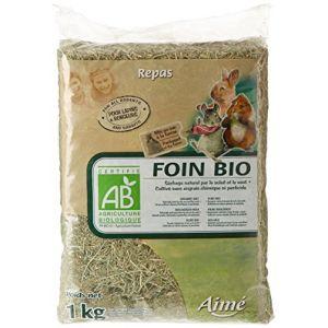 Aimé Repas Foin Bio - Pour lapins rongeurs - 1kg