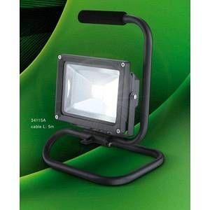 Globo Lighting Projecteur professionnel Globo PROJECTEUR LED Anthracite, 1 lumière - Moderne - Extérieur - PROJECTEUR