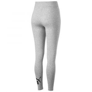 Puma ESS Logo Leggings Pantalons Femme, Light Gray Heather, FR : L (Taille Fabricant : L)