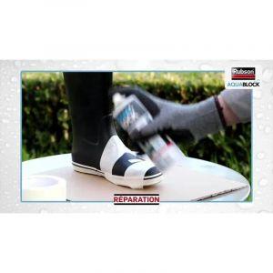 Rubson 2266464 « Aquablock »Revêtement d'Étanchéité en Spray, Gris