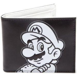 Nintendo Portefeuille Super Mario Black and White