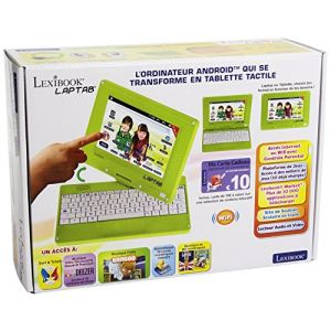 Lexibook Ordinateur tablette Laptop écran rotatif