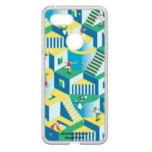 Bigben Coque Geoffroy de Crécy pour Google Pixel 3 XL