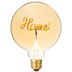 """Atmosphera Ampoule Décorative à Filament """"Home"""" 17cm Ambre"""
