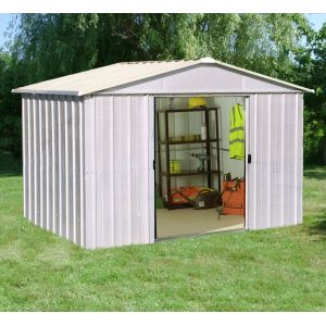 Duramax Abri de jardin Titan en métal 4,75 m2 - Comparer avec ...