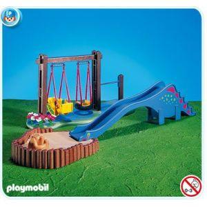 Playmobil 7328 - Balançoire et toboggan