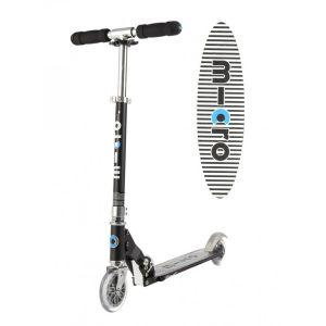 Micro Trottinette Sprite Spécial Edition Noir Grip rayé Noir Mobility