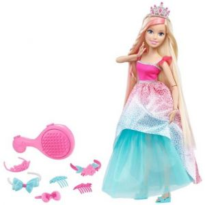 Mattel Barbie grande Princesse blonde