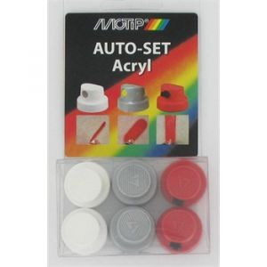 Motip Kit de 6 buses Auto-Set acrylique 237881