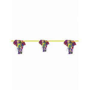 Guirlande fanions compostable éléphant