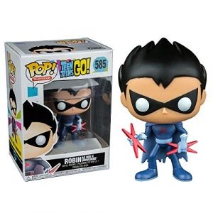Funko Figurine Teen Titans Go ! - Robin as Red X Unmasked Exclusive Pop 10cm - 0889698205672