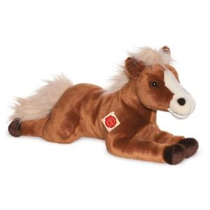 Hermann Teddy Peluche Cheval couché 51 cm