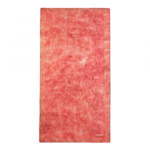 Desigual Foulard Galaxy à mandalas pointillistes Rouge