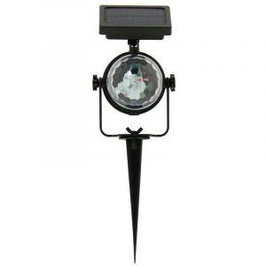 Xanlite Balise LED solaire, couleurs changeantes, à piquer ou à fixer, extérieur : IP44 |