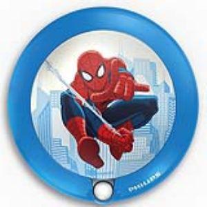 Philips 71765/40/16 - Veilleuse à détecteur Spiderman