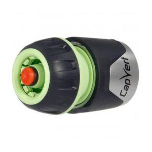 Cap Vert DY8011HL/LABEL - Raccord rapide stop Diamètre 15 mm