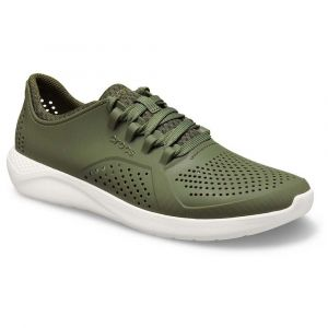 Crocs Chaussures Literide Pace - Army Green / White - EU 46-47