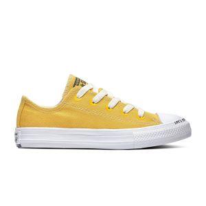 Converse Chaussures enfant CTAS OX jaune - Taille 27,28,29,31,32