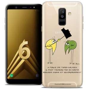 CaseInk Coque Gel Samsung Galaxy A6 PLUS 2018 (6 ) Extra Fine Les Shadoks® - A Force