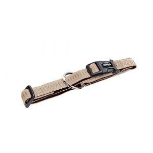 Nobby Soft Grip Collier Pour Chien Beige/Chocolat 50-65 Cm/25 Mm