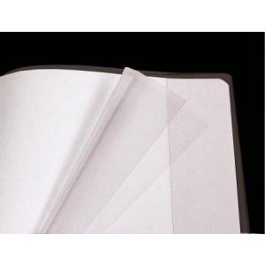 Clairefontaine 73500C - Protège-cahier cristal lisse  avec rabat en PVC 22/100 (24 x 32 cm)
