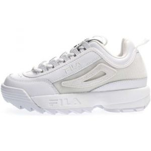 FILA Chaussures 5FM00538 DISRUPTOR II PATCHES blanc - Taille 37,38,39,40,41