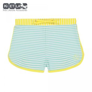 Ki ET LA Maillot de bain short anti-UV Screech stripe (12 mois)