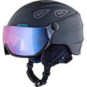 Alpina Grap Visor 2.0 HM Casque de ski Bleu 54-57 cm