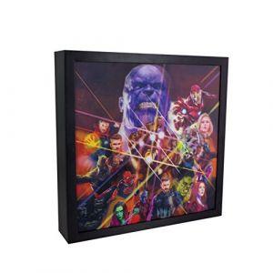 Marvel Avengers Infinity War 3D Luminart