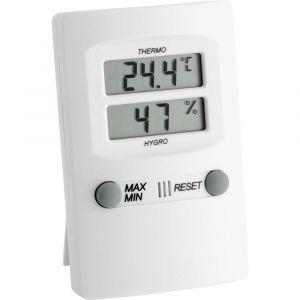 TFA Dostmann Thermo-hygromètre numérique blanc TFA
