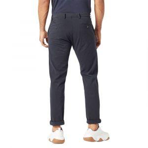 DOCKERS Pantalon chino Alpha Khaki Smart 360 Flex tapered Bleu