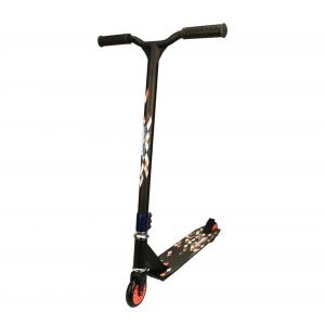Nijdam Trottinette freestyle - Noir et orange