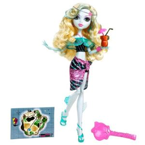 Mattel Monster High Lagoona Blue en tenue de plage