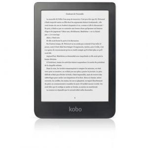 Kobo Liseuse eBook Clara HD 8 Go 6 pouces Noir