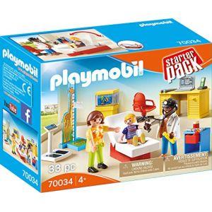 Playmobil 70034 - Starterpack Cabinet De Pédiatre